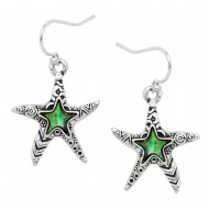 Starfish Abalone Earring