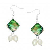 Abalone & Pearl Earring