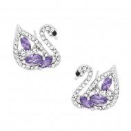Swan Earring