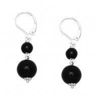 Black Onyx Earring