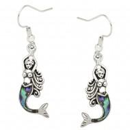 Mermaid Abalone Earring