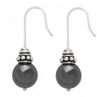 Hematite Stone Earring