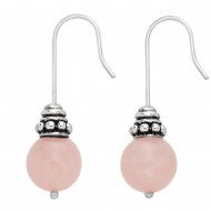 Rose Quartz Earring
