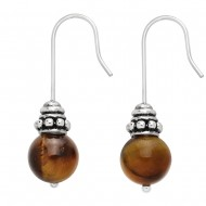 Tiger Eye Earring