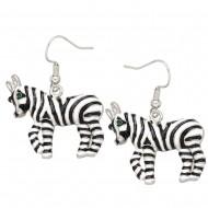 Zebra Earring
