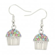 Cup Cake Earring