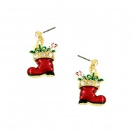 Christmas Shoe Earring
