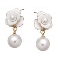 Rose Flower Earring