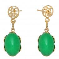 Malay Jade Earring
