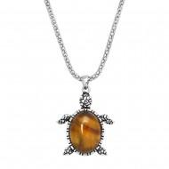 Turtle Gemstone Necklace