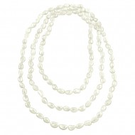 """G.F.W.P. Necklace 8-9MM 66"""""""