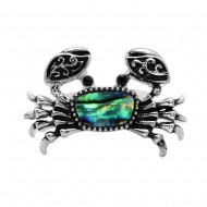 Sea Crab Abalone Ring