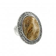 Jasper Stone Ring