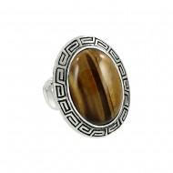 Tiger-Eye Ring