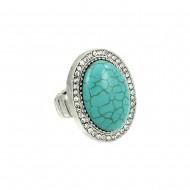 Turquoise Elastic Ring