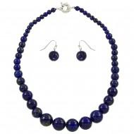 Lapis Lazuli Stone NK Set