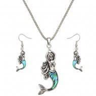 Mermaid Necklace Set