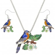 Bird Necklace Set