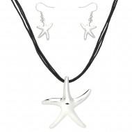 Starfish Necklace Set
