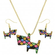 Dog Necklace Set