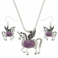 Unicorn Necklace Set