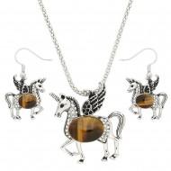 Unicorn Necklace Set