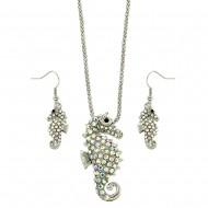 Seahorse Necklace Set