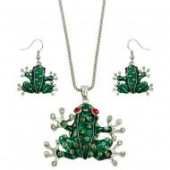 Frog Necklace Set