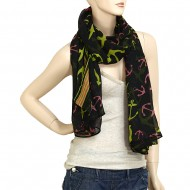 "Anchor Scarf 70"" x 45"""