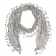 "Lace Scarf 68"" x 12"""