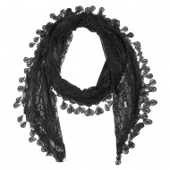 """Lace Scarf 68"""" x 12"""""""