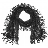 "Lace Scarf 70"" x 12"""