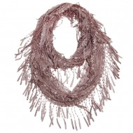 "Lace Scarf 64"" x 10"""