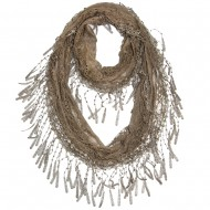 """Lace Scarf 64"""" x 10"""""""