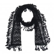 "Lace Scarf 70"" x 11"""