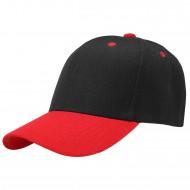 Baseball Cap - BlackRed