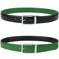 Men Reversible Leather Belt