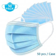 50 Pcs Disposable Face Masks