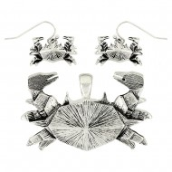 Pendant & Earring Set