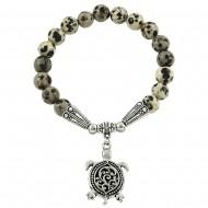 Dalmatian Stone Bracelet
