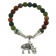 Indian Agate Stone Bracelet