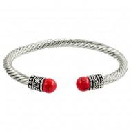 Coral Stone Bracelet