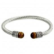Tiger-Eye Stone Bracelet