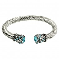 Crystal Wire Bangle