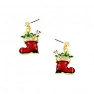 Christmas Shoe Earring