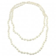 G.F.W.P. Necklace 8-9MM 42""