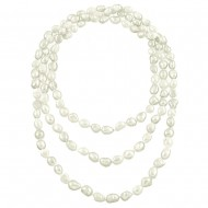 G.F.W.P. Necklace 8-9MM 54""