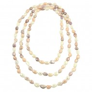 G.F.W.P. Necklace 8-9MM 66""