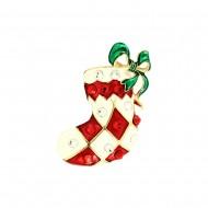Santa Claus Socks Pin