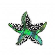 Starfish Abalone Ring